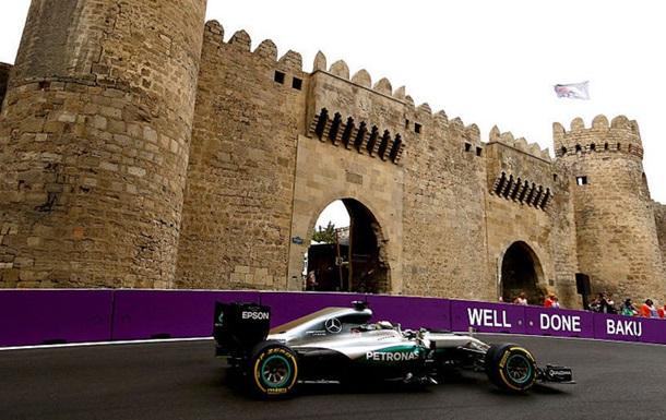 Формула 1. Гран-прі Європи. Гемілтон - лідер другого тренування