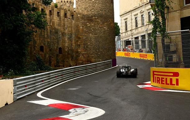 Формула 1. Гран-прі Європи. Хемілтон - найкращий у третьому тренуванні