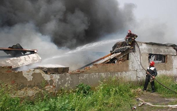 На Львівщині пожежа на птахофабриці знищила 20 тисяч птахів