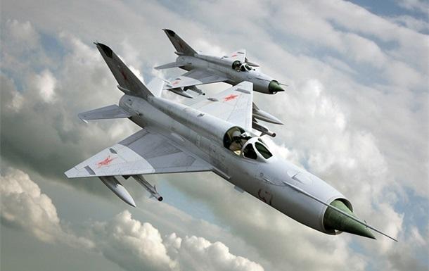 ЗМІ: У Сирії розбився винищувач МіГ-21