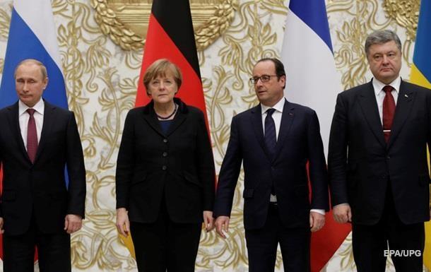 Меркель хочет собрать  нормандскую четверку  – СМИ