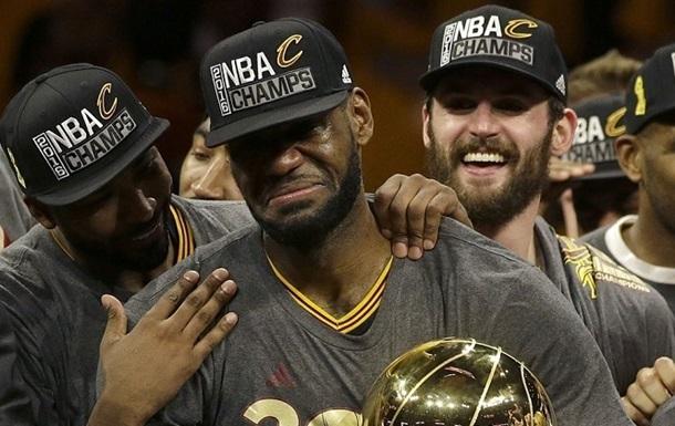 НБА. ЛеБрон Джеймс стал MVP финала НБА