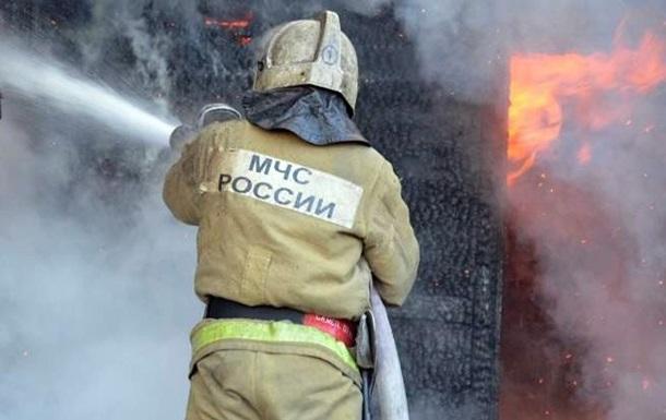 У РФ на полігоні загорівся двигун ракети