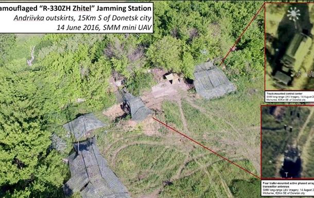 ОБСЕ обнаружила в зоне АТО российскую радиолокационную станцию