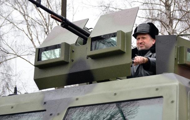 Маниакальная жажда Турчинова воевать