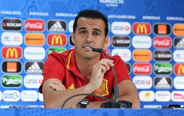 Педро незадоволений відсутністю ігрового часу на Євро