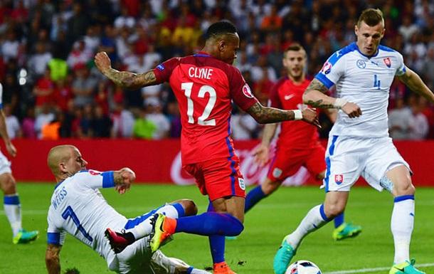 Англия - Словакия. Обзор матча