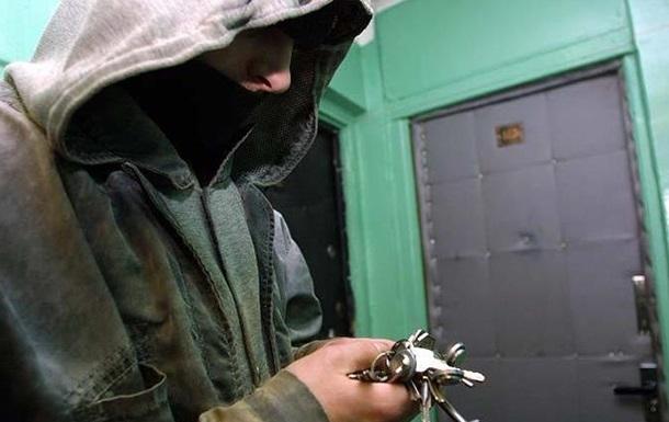 На Харьковщине вдвое выросло число квартирных краж
