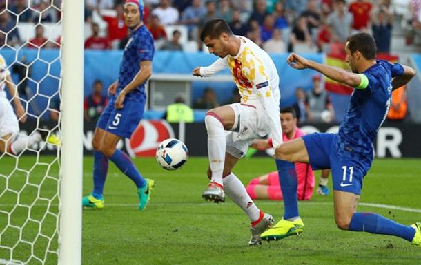 Хорватія вириває перемогу в Іспанії і піднімається на перше місце в групі D
