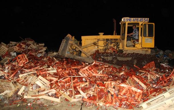 В РФ уничтожили почти 40 тонн украинской клубники
