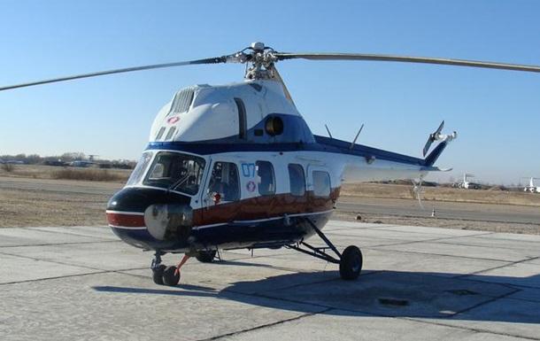 У Харківській області впав вертоліт, є постраждалі