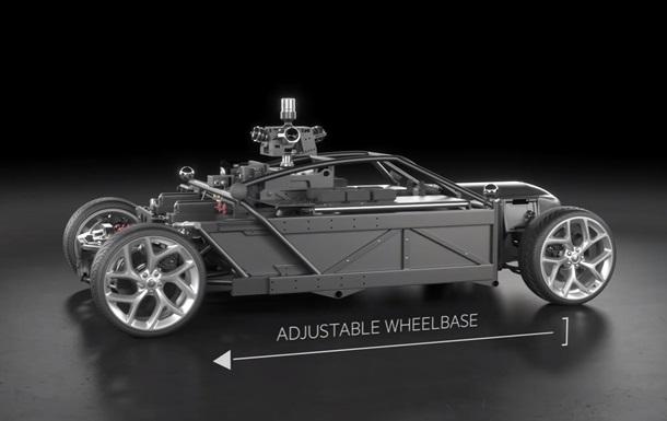Создано маскирующееся под любой автомобиль шасси