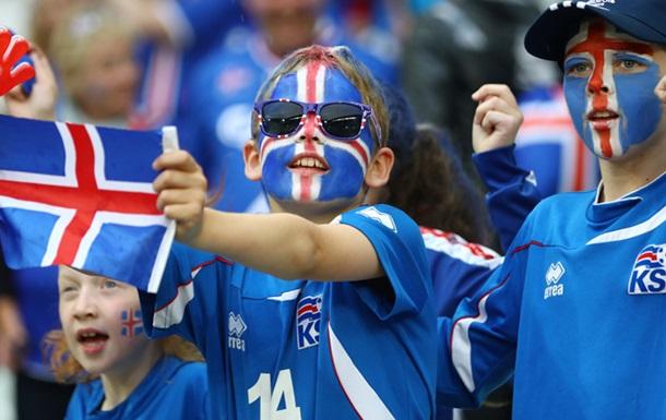Продажи футболок сборной Исландии увеличились на 1800%
