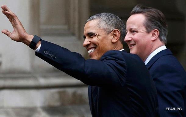 Обама: США уважают выбор Британии