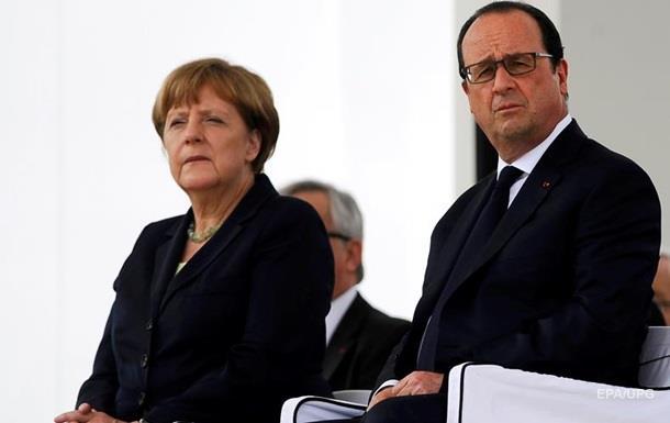 Меркель и Олланд о Brexit: тяжелое испытание