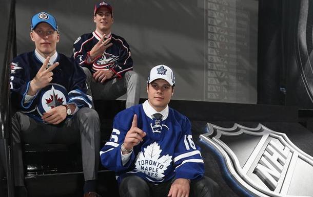 Драфт НХЛ. Первый раунд. Мэттьюс уходит под первым номером
