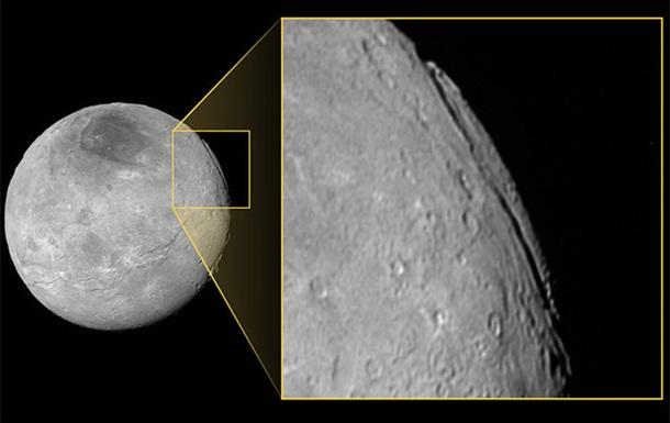 NASA показало найглибший каньйон у Сонячній системі