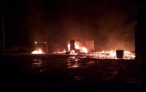 Половина жителів Дніпра без світла через пожежу