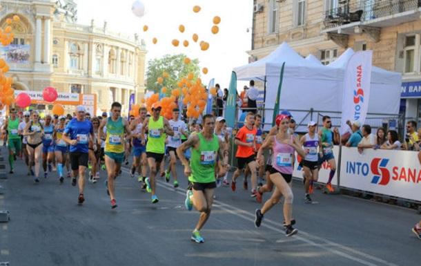 Юрий Грицак – победитель полумарафона Odesa Half Marathon 2016