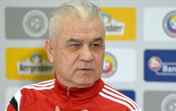Йорданеску звільнений з поста головного тренера збірної Румунії