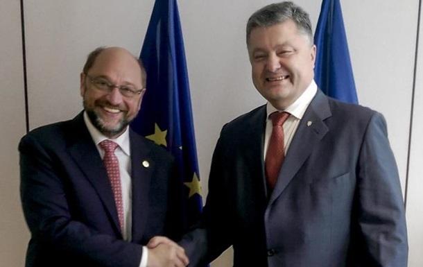 Шульц: Brexit не вплине на безвіз для України