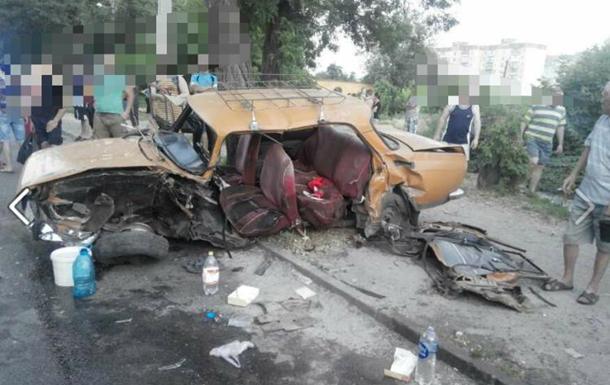 ДТП у Кіровограді: одна людина загинула і шість постраждали