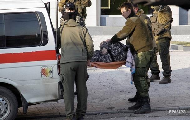 Потери в АТО: один погибший и шестеро раненых