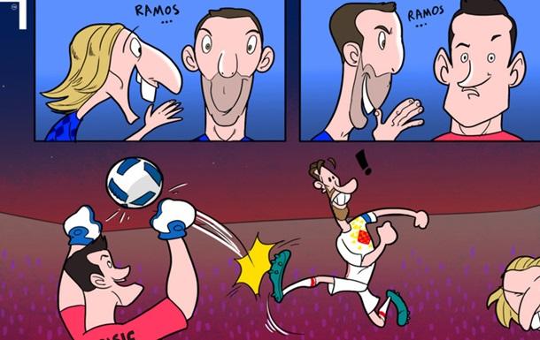 Вибірка карикатур від Омара Момані за останній тиждень