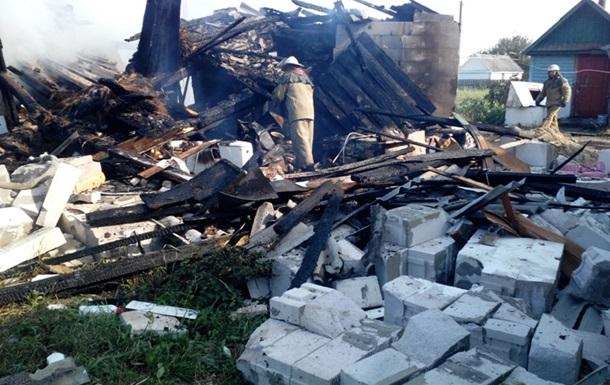 Взрыв в доме на Житомирщине: трое пострадавших