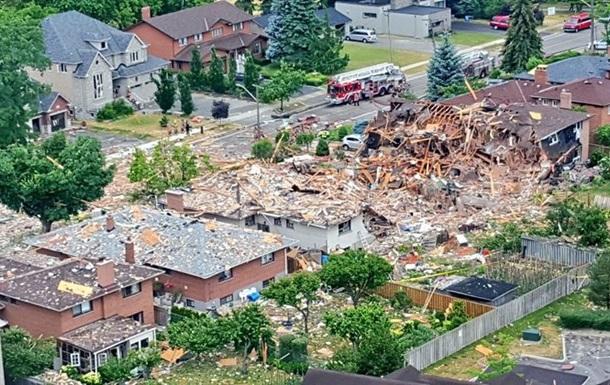 В Канаде взрывом повреждены 25 домов, есть жертвы