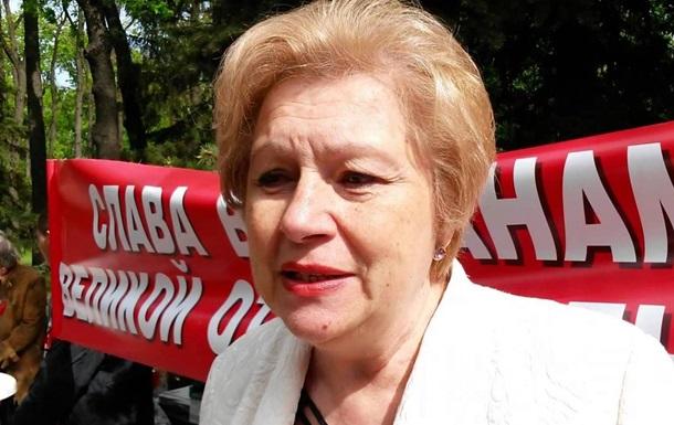 В Харькове задержана экс-нардеп от КПУ Алла Александровская