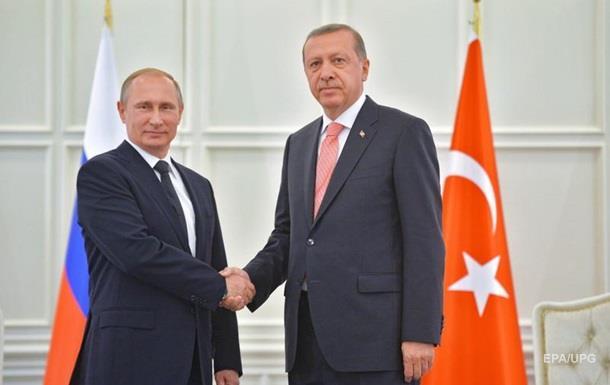 Путін дозволив росіянам відпочивати в Туреччині