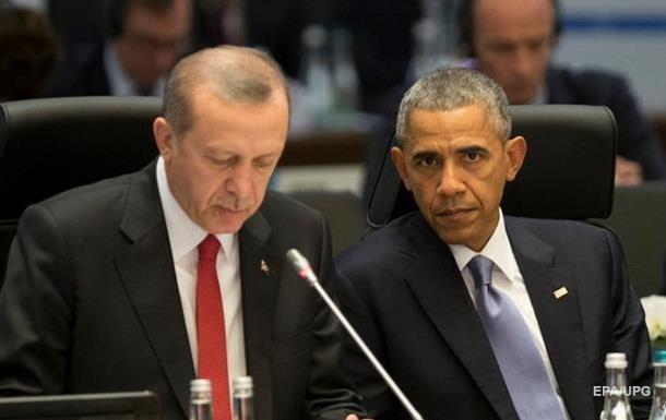 Обама и Эрдоган обсудили отношения Турции и РФ
