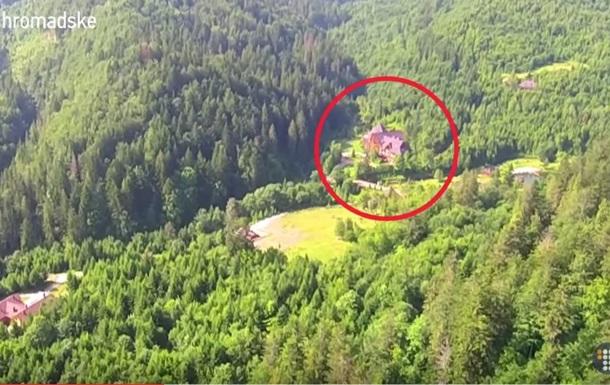 Журналисты показали особняк Медведчука