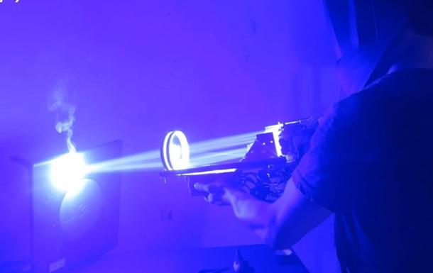 Американец создал мощное лазерное ружье