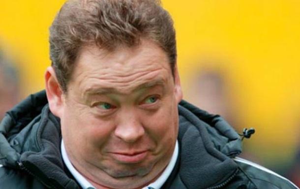 Слуцький звільнений із поста головного тренера збірної Росії