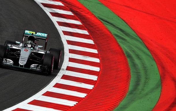 Формула-1. Гран-прі Австрії. Росберг - найшвидший на другому тренуванні