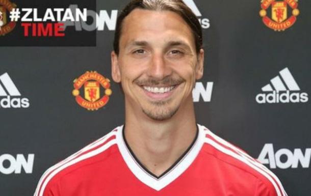 Ибрахимович стал игроком Манчестер Юнайтед