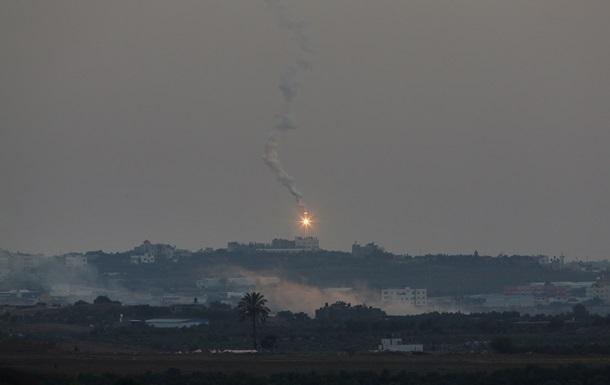 Израиль нанес удары по объектам ХАМАС