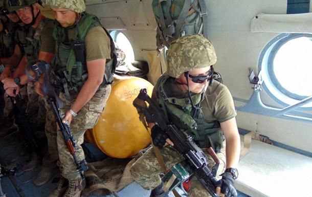 Десантники атаковали  врага  на Rapid Trident-2016