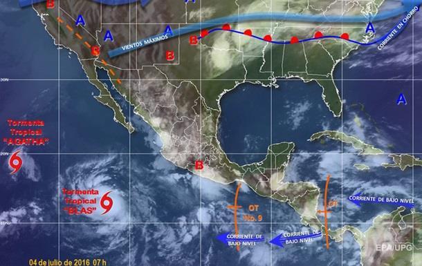 На Мексику насувається ураган  Блас