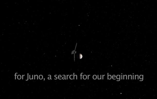 NASA показало обертання супутників навколо Юпітера на відео
