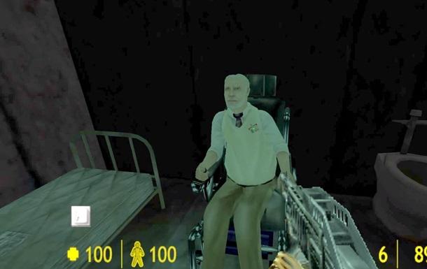 Культовую игру Doom переделали в Half-Life