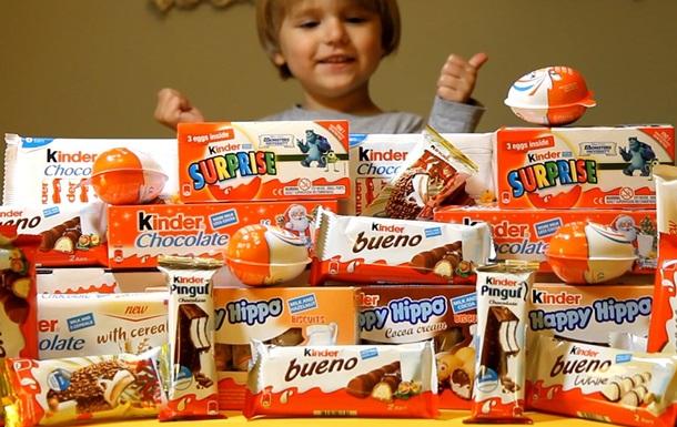 Ferrero объяснила содержание опасных веществ в Kinder