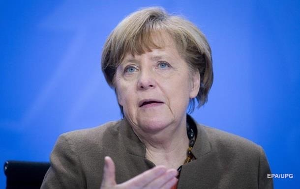 Меркель: Довіра до Росії підірвана через Україну