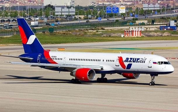 Перший чартерний рейс з Росії до Туреччини скасували