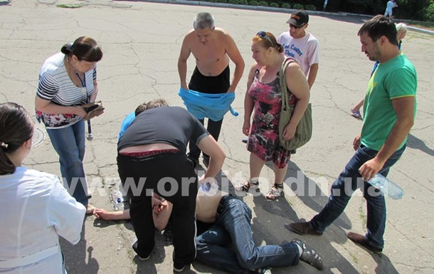 На Донбасі голодуючий шахтар втратив свідомість