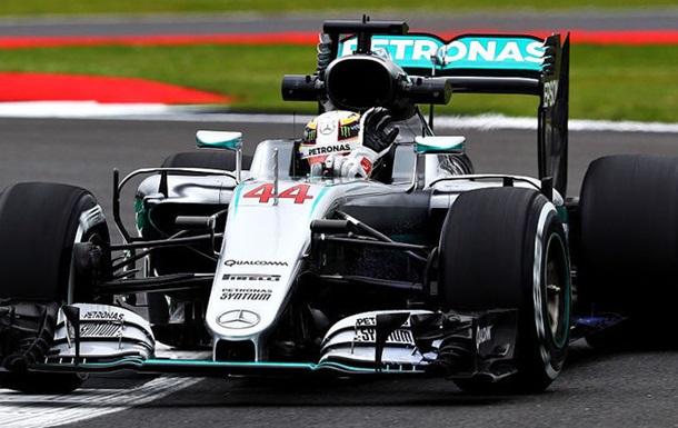 Формула-1. Гран-при Великобритании. Хэмилтон — лидер первой тренировки