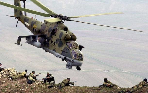 Около Пальмиры сбит вертолёт сирийских войск Ми-24 - СМИ