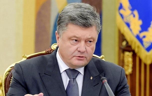 Порошенко пояснив російським журналістам, коли будуть вибори на Донбасі